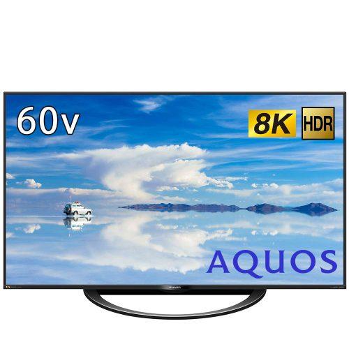 シャープ(SHARP) 8Kチューナー内蔵液晶テレビ AQUOS 8T-C60AX1 60V型