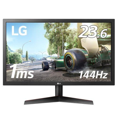 LGエレクトロニクス(LG Electronics) 応答速度1msパネル144Hz対応ゲーミングモニター 24GL600F-B