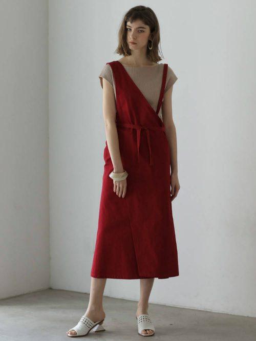 ラグナムーン(LAGUNAMOON) アシンメトリージャンパースカート