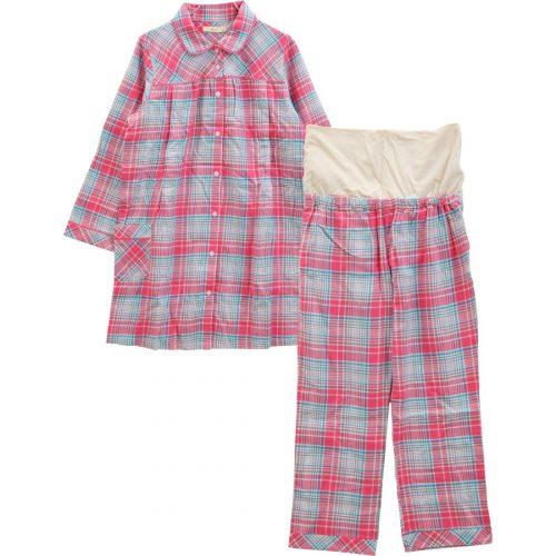 犬印本舗 フェアリー 腹巻付チェック柄パジャマ