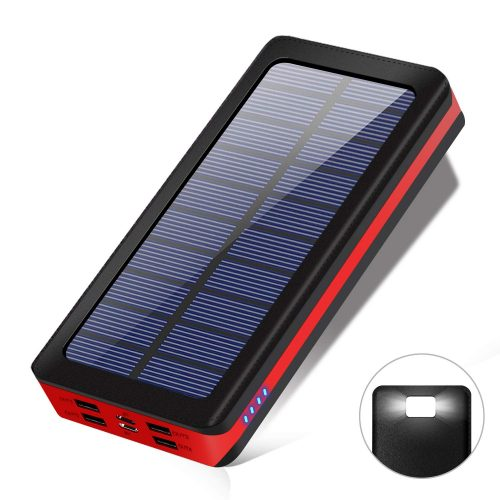 TSUNEO モバイルバッテリー  ソーラチャージャー