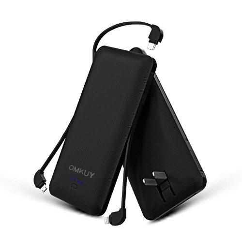 omkuy 薄型モバイルバッテリー 10000mAh pb149