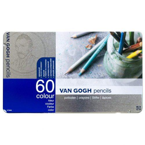 ロイヤルターレンス(ROYAL TALENS) ヴァンゴッホ色鉛筆60色 T9773-0065