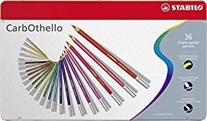 スタビロ(STABILO) カーブオテロ 水彩パステル色鉛筆 36色セット 1436-6