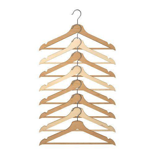 イケア(IKEA) BUMERANG  洋服ハンガー8本セット30167102