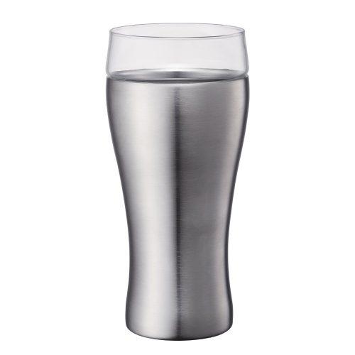 ドウシシャ(DOSHISHA) ビールタンブラー オンドゾーン 飲みごこち OZNB-420MT