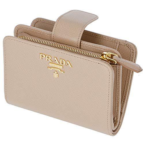 プラダ(PRADA) サフィアーノメタル 二つ折り財布
