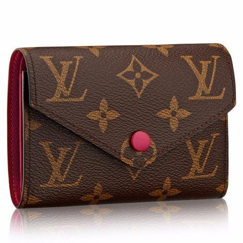 ルイ・ヴィトン(LOUIS VUITTON) 二つ折り財布 ポルトフォイユ・ヴィクトリーヌ
