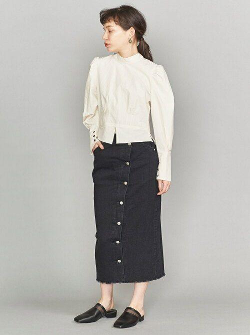 ビューティアンドユース ユナイテッドアローズ(BEAUTY&YOUTH UNITED ARROWS) ボタンスリットタイトスカート 16244993371