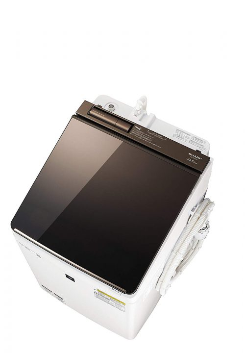 シャープ(SHARP) タテ型洗濯乾燥機 10.0kg ES-PU10C