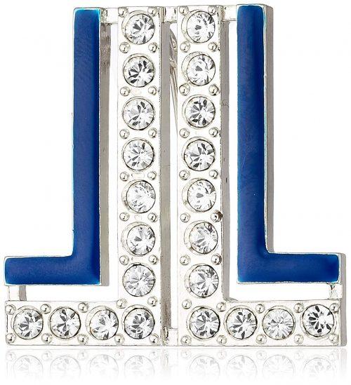 ランバンオンブルー(LANVIN en Bleu) セサンパ ロゴブローチ LAMV0691