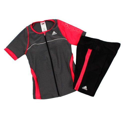 アディダス(adidas) ウィメンズ フィットネス ショートスリーブ タンキニ ELE60