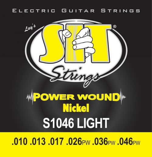 エスアイティ(SIT) POWER WOUND -Nickel Round Wound LIGHT 010-046