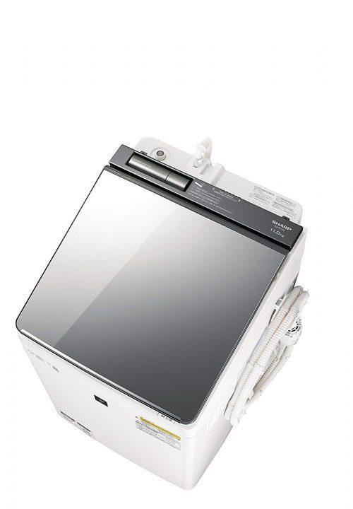 シャープ(SHARP) 洗濯乾燥機 ES-PU11C-S