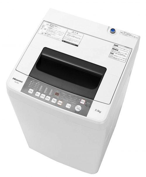 ハイセンス(Hisense) 全自動洗濯機 HW-T55C