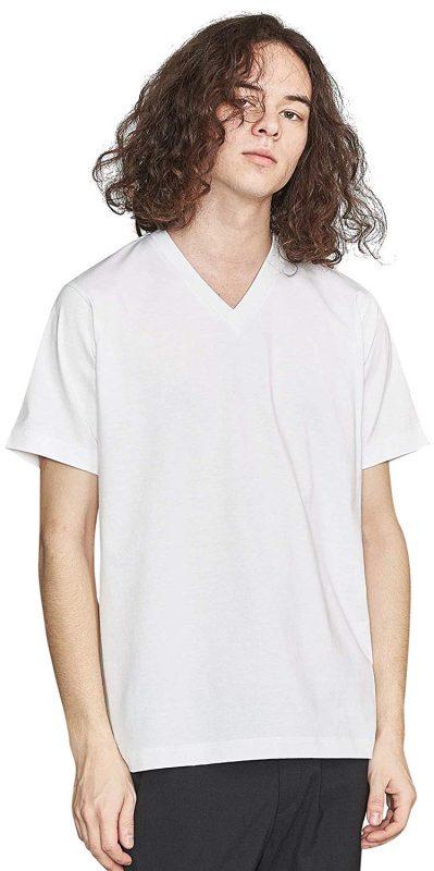 ビューティ&ユース ユナイテッドアローズ(BEAUTY&YOUTH UNITED ARROWS) ハイゲージコットンVネックTシャツ