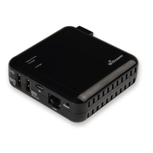 ラトックシステム(RATOC Systems) Wi-Fi USBリーダー REX-WIFIUSB2-BK