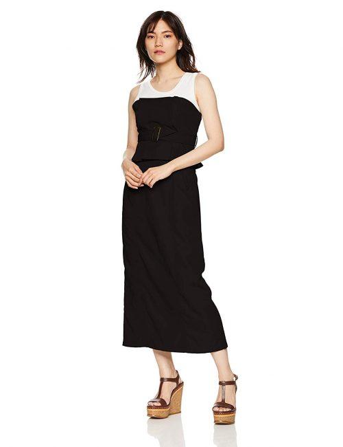 ムルーア(MURUA) タックビスチェスカート
