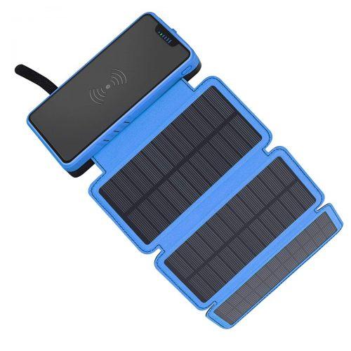elzle モバイルバッテリー ソーラーチャージャー