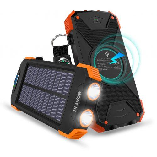 BLAVOR ソーラーモバイルバッテリー
