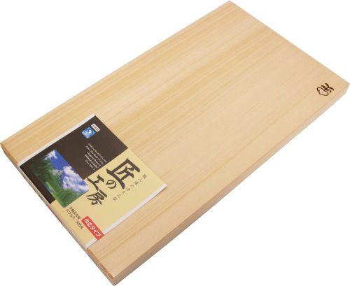 市原木工所 焼印付まな板 幅広 4971421031149