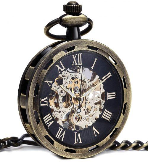 クロノシア(Cronoshea) 手巻き式懐中時計