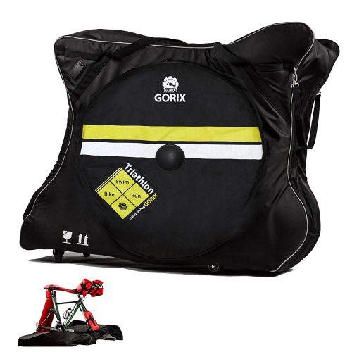 ゴリックス(GORIX) キャスター付き 自転車 輪行袋 Ca6