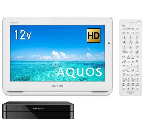 シャープ(SHARP) ポータブル液晶テレビ AQUOS 2T-C12AF