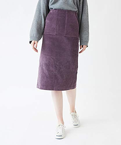 ティティベイト(titivate) コーデュロイタイトミディアムスカート