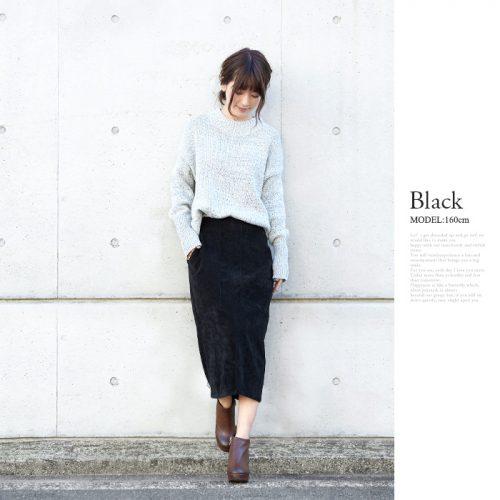 ハッピー急便(HAPPY EXP) コーデュロイタイトスカート