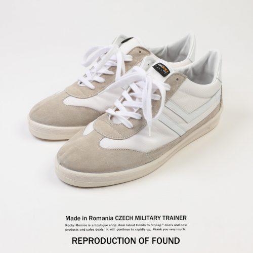 リプロダクション オブ ファウンド(REPRODUCTION OF FOUND) スニーカー チェコミリタリートレーナー