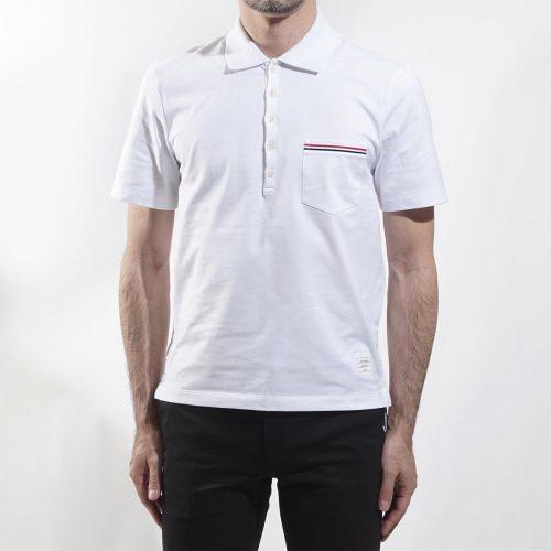 トムブラウン(THOM BROWNE) 半袖ポケットポロシャツ