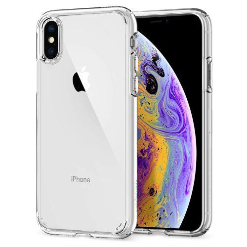 シュピゲン(Spigen) iPhone XS/X用 クリアケース