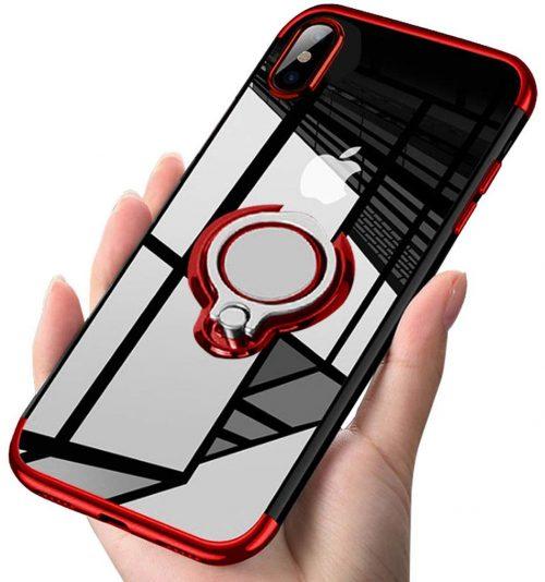 アトストン(ATUSIDUN) iPhone XS/X用 リング付きケース