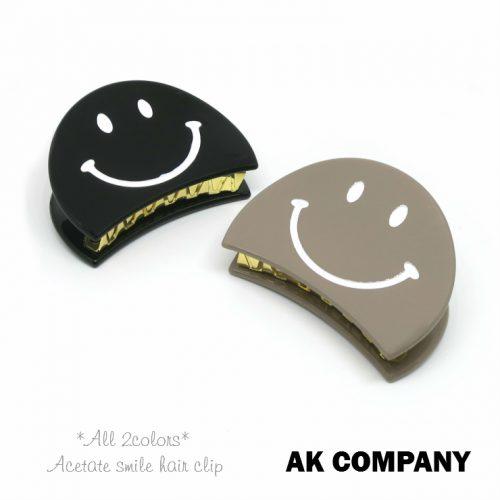 AK company アセチ スマイルヘアクリップ