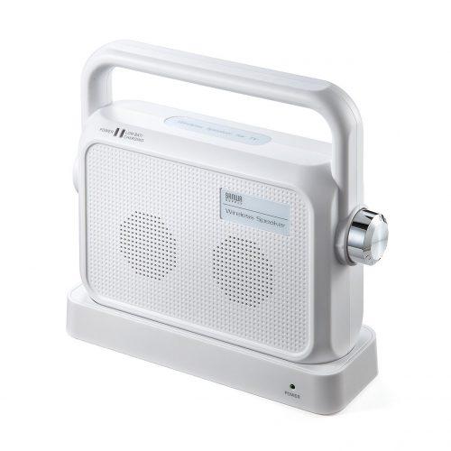 サンワサプライ(SANWA SUPPLY) ワイヤレスTV用手元スピーカー400-SP064W