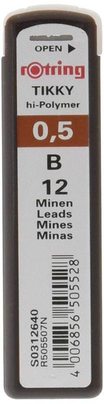 ロットリング(rotring) メカニカルペンシル用 替芯 0.5mm B S0312640