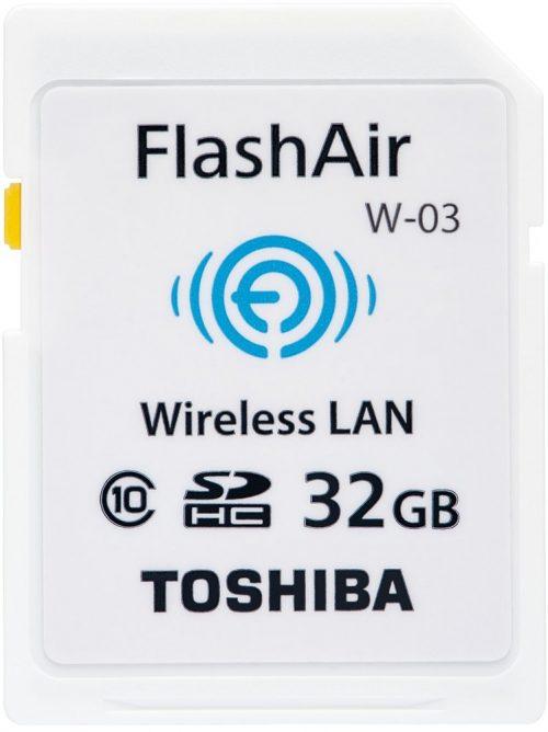 東芝(TOSHIBA) 無線LAN搭載SDHCカード FlashAir W-03 32GB