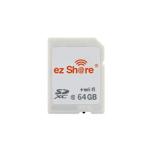 OSEI Wi-Fi内蔵SDHCカード ezShare 64GB