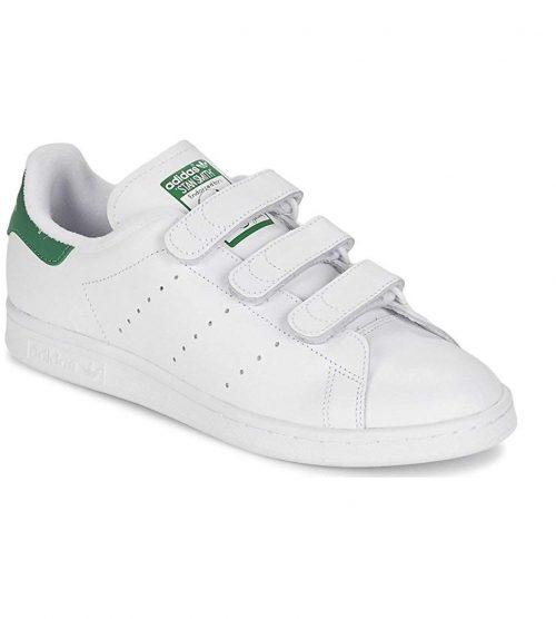 アディダス(adidas) スタンスミス CF ベルトストラップ S75187 ホワイト/グリーン