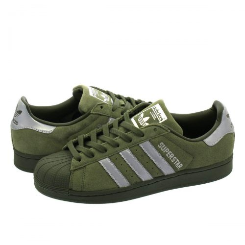 アディダス(adidas) スーパースター b41988 BASE GREEN/SILVER/NIGHT CARGO