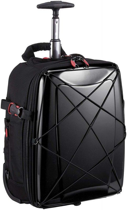ヒデオワカマツ(HIDEO WAKAMATSU) スーツケース ソフト ハイブリッドギアトローリー 3WAY 85-76300