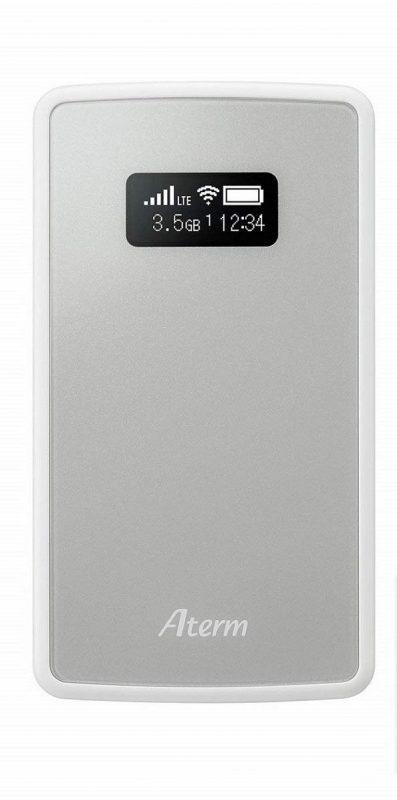 日本電気(NEC) SIMフリーモバイルルーター Aterm MP01LN