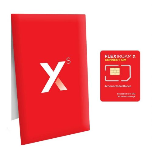 フレキシローム(FLEXIROAM) X プリペイド SIMカード