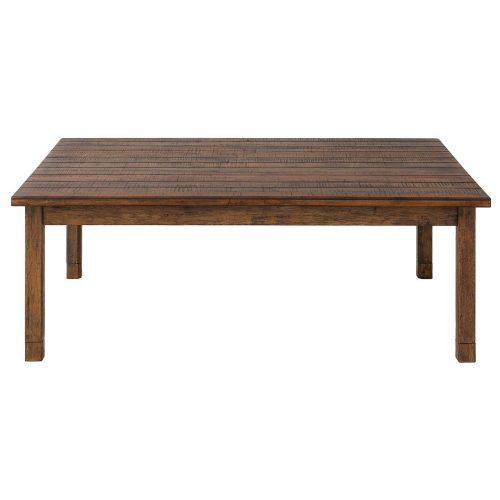 モダンデコ 家具調古材風こたつテーブル