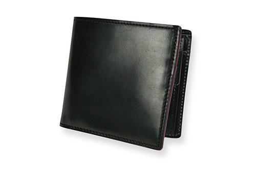 ガンゾ(GANZO) SHELL CORDOVAN 2 小銭入れ付き二つ折り財布 57128