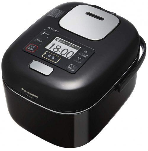 パナソニック(Panasonic) 可変圧力IH式炊飯器 3合炊き Wおどり炊き SR-JW058
