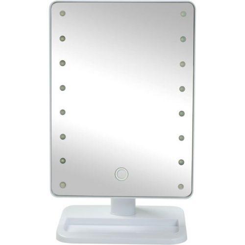 ニトリ LED卓上ミラー(トレー付き)