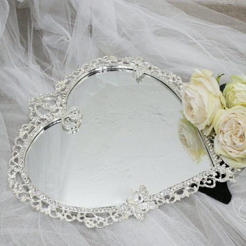 鏡専門店 NIKO KIRA ハートミラー プリンセス バタフライ
