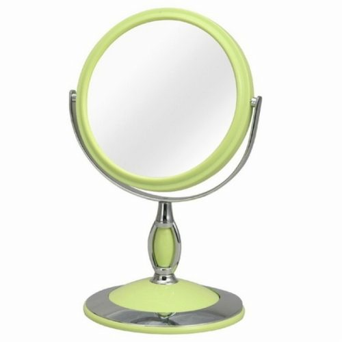ジェンコ(GENCO) ラウンド卓上ミラー くるり 片面3倍鏡